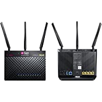 T-Mobile T-Mobile (AC-1900) By ASUS Wireless-AC1900 Dual-Band Gigabit Router, AiProtection with Trend Micro for Complete Network Security (Certified Refurbished)