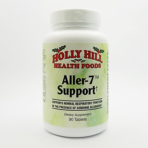 Holly Hill Health Foods, Aller-7 Support, 90 Tablets