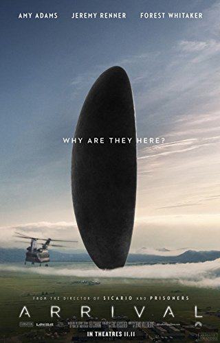 ARRIVAL (2016) Original Movie Poster 27x40 - Dbl-Sided - Amy Adams - Jeremy Renner - Forest Whitaker - Michael Stuhlbarg