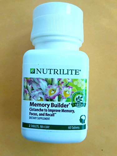 Memory Builder with Ginkgo 60 Tablets by Nutrilite