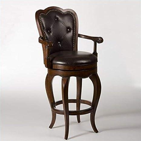 Astonishing Hillsdale Furniture Eastwind Swivel Counter Stool Dark Cherry Bralicious Painted Fabric Chair Ideas Braliciousco