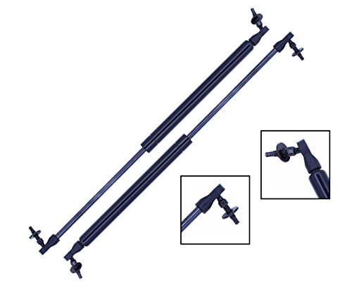 2 Pieces (SET) Tuff Support Liftgate Lift Supports 2001 To 2008 Chevrolet PT Cruiser