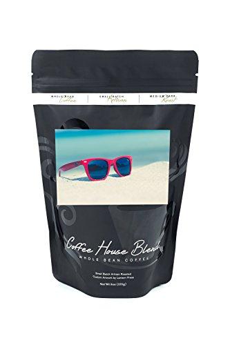 Sunglasses in Sand (8oz Whole Bean Small Batch Artisan Coffee - Bold & Strong Medium Dark Roast w/ - Sand In Sunglasses