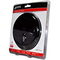 GPX Portable Audio Anti-Skip Stereo CD Player w/ Earbuds LCD Display NEW