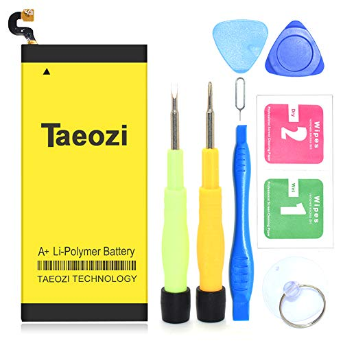 Galaxy S6 Battery, Taeozi 2850mAh Li-Polymer Replacement Battery EB-BG920ABE for Samsung Galaxy S6 G920V G920A G920T G920P with Free Tool Kit [365 Day Warranty] ()
