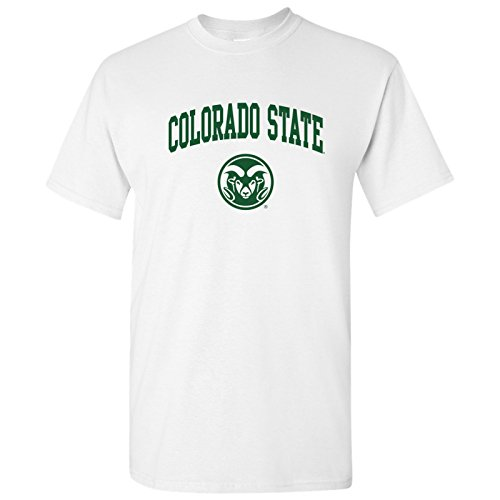 (AS03 - Colorado State Rams Arch Logo T-Shirt - Medium -)