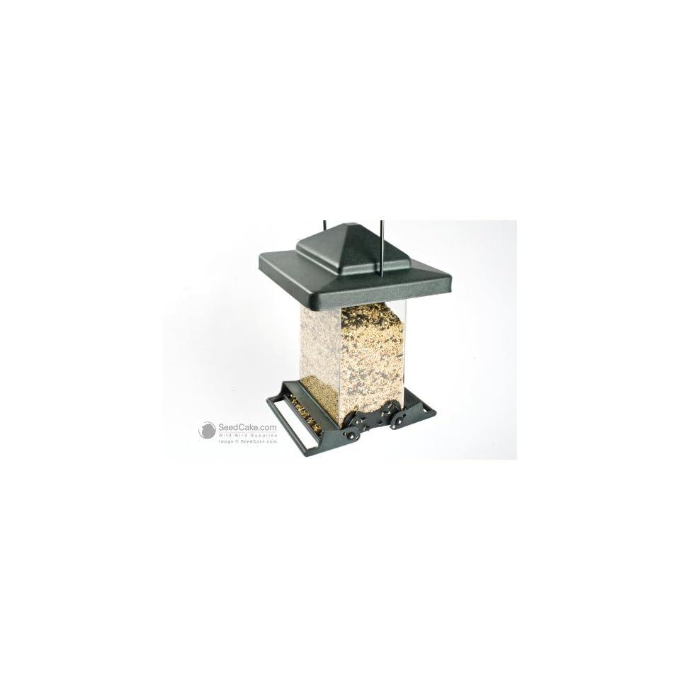 Akerue 75160 H F Vista Squirrel Proof Bird Feeder, Large, 1 Gallon