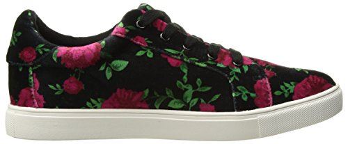 Blu Da Betsey Johnson Womens Bettie Sneaker Rosso / Nero