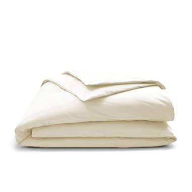 True Certified Organic 350 Thread Count Duvet Covers Soft and Luxurious - King Natural