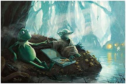 Bucket Try It You Must Star Wars Yoda Kermit The Frog Parody