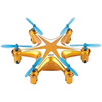 Squadron Products Tiny Headless Flying Quadcopter, Orange