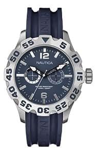 Nautica A16601G - Reloj de cuarzo para hombres, color azul