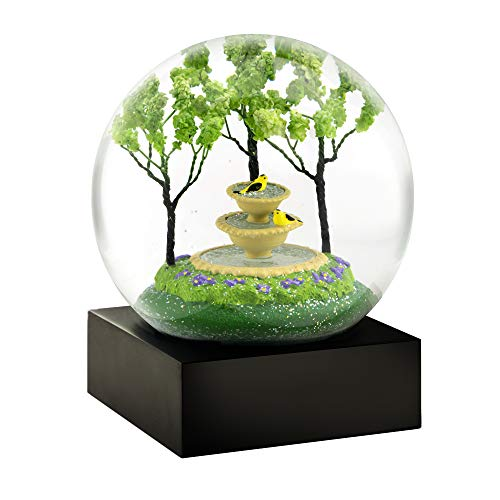 (CoolSnowGlobes Goldfinch Fountain Snow Globe)