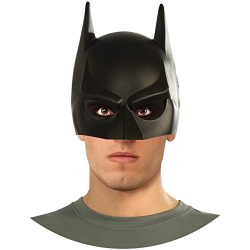 Batman The Dark Knight Rises Mask, Black, Adult -