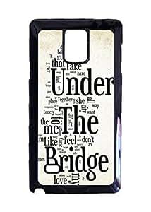 Dave Matthews Band Under The Bridge Unique Diy Skin Custom Hard Durable Case for Samsung Galaxy Note 4 Case