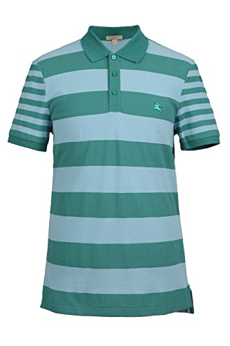 Burberry Brit Striped Logo Men's Polo Shirt (X-Large - Logo Brit Burberry