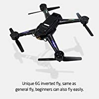 X252 5.8G FPV 7CH 6-Axis Gyro Drone RC Quadcopter RTF 1804 Brushless Motor, with 720P Camera -Black