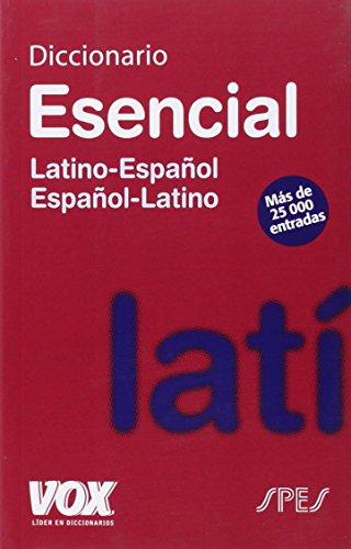 Descargar Libro Diccionario Esencial Latino. Latino-español/ Español-latino Aa.vv.