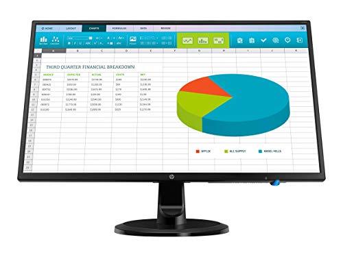 """HP 23.8"""" Full HD IPS 1920x1080, 1000:1, 250cd/m², 5ms, 0.275mm, 16.7M Colors, 16:9, HDCP, VGA, HDMI, VESA Mount, 22W (1RM28A6#ABA)"""