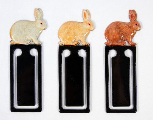 (Wholesale Pack Handpainted Assorted Rabbit Bookmark (Set Of 12))