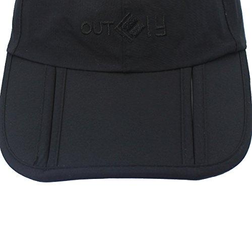 impermeable portátil 3 Outfly de pliegues nbsp;Gorra béisbol tapa ZtXUpxaqw