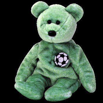 Image Unavailable. Image not available for. Color  Ty Kicks the Soccer Bear  Beanie Baby ... 708a3fdc1da1