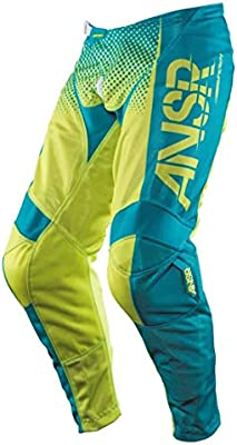 Answer Racing A17.5 Syncron Air Boys Off-Road Motorcycle Pants Size 22 Yellow//Blue