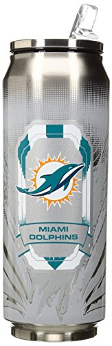 NFL Miami Dolphins SS Thermo Can, - Mall Hours Dolphin