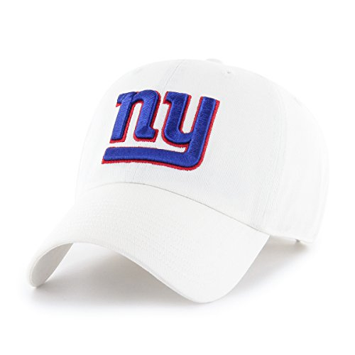 OTS NFL New York Giants Male Challenger Adjustable Hat, White, One Size ()