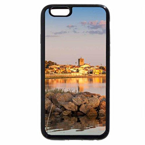 iPhone 6S / iPhone 6 Case (Black) sunrise in meze france