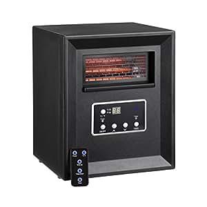 Amazon Com Vonhaus 4 Element Infrared Fan Heater With