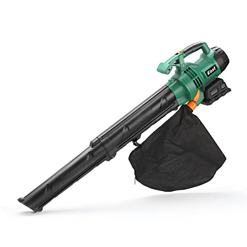 - EAST 20V Li-ion 2 Speed 15L Battery Powered Leaf Blower & Vacuums, Cordless Sweeper & Vacuums, Battery & Charger Included