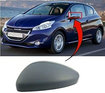 Genuine Peugeot 208 /& 2008 Set Of Two Chrome Wing Mirror Covers Caps 1608313880
