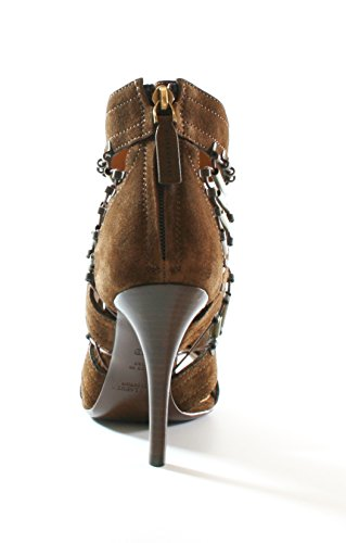 Ralph Lauren Ladies Blaphina Brown Shoes Size UK 4 EU 37 Purple Label RRP £580 LZW7jwJPdw