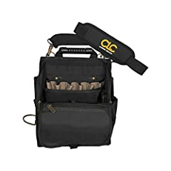 CLC Custom Leathercraft 1509 Zippered Professional Electricians Tool Pouch, 21 PocketAt a GlanceCombination of 25 pockets and sleeves provide a wide range of tool and parts storageEasy-grip, double-pull, main-pocket access zipper helps keep t...