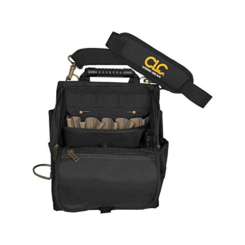 Main Zippered Pocket (CLC Custom Leathercraft 1509 21-Pocket Zippered Professional Electricians Tool Pouch)