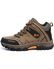 Autumn and Winter New Non-Slip Waterproof Outdoor Hiking Shoes Men's Cross-Border Large Size Hiking High-top Travel Shoes Men's Shoes