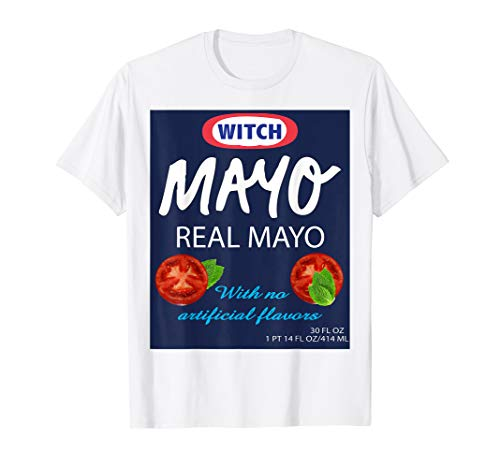 Mayonnaise Condiment Costume TShirt Matching Group Family]()
