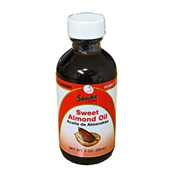 Sanar Naturals Sweet Almond Oil 2oz Aceite de Almendras CombineShiping Available