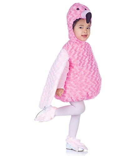 Underwraps Costumes Baby's Flamingo Belly-Babies, Pink, Large -