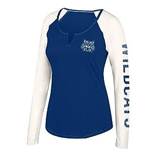 J. America NCAA Womens NCAA Women's Notch Neck Long Sleeve Tee
