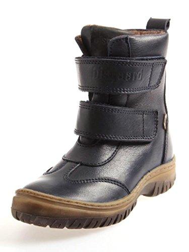 Bisgaard TEX Unisex-Kinder Boots Wolle Schneestiefel Winterschuhe Leder Azul