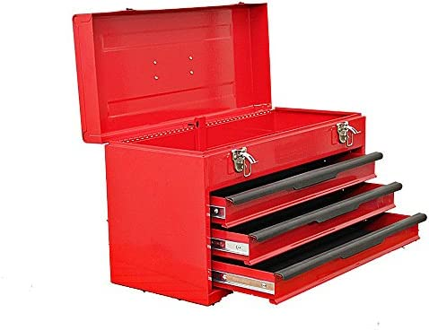 Barbero caja hierro herramientas 435 x 240 x 275 mm Herramientas ...