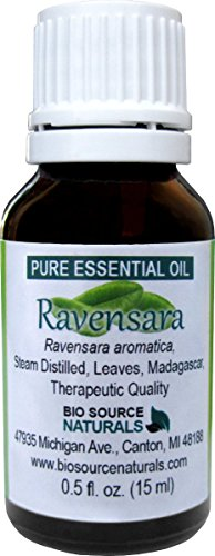 Ravensara (Ravensara Aromatica)) Pure Essential Oil 30 ml / 1,0 fl oz.- Therapeutic Quality, 100% Pure, Undiluted, Concentrated from BioSource Naturals
