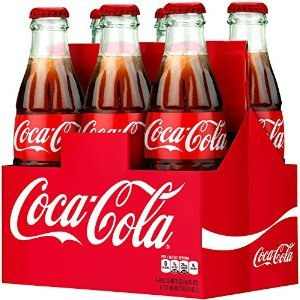 Coca-Cola Classic 8oz Glass Bottles 4-6 Packs (24 Bottles) Coke by Coca-Cola