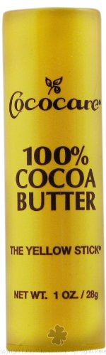 Cococare Coco Cocoa Butter Stick, Stock 100% 1 oz, 8 pack (Stock Stick)