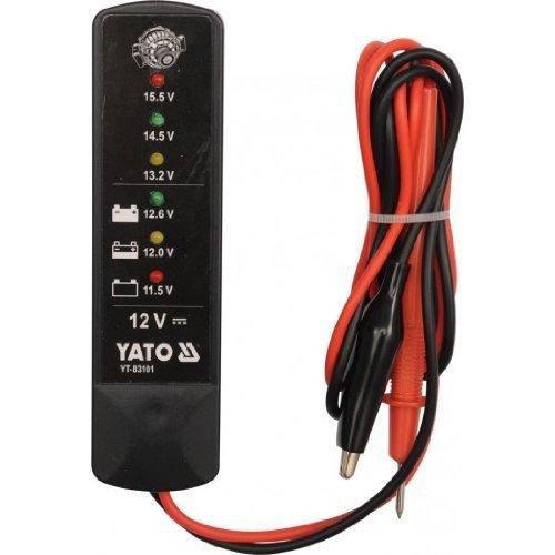 Yato yt-83101 –  Batterie Tester 12 V