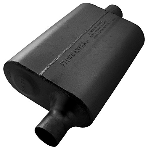 Flowmaster 942041 40 Delta Flow Muffler - 2.00 Offset IN / 2.00 Center OUT - Aggressive Sound ()