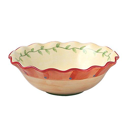 Pfaltzgraff Earthenware Bowls - Pfaltzgraff Napoli Pasta/Dinner Bowl, 24-Ounce