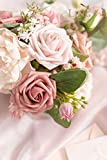 Ling's moment Artificial Flowers Warm Taupe & Nude